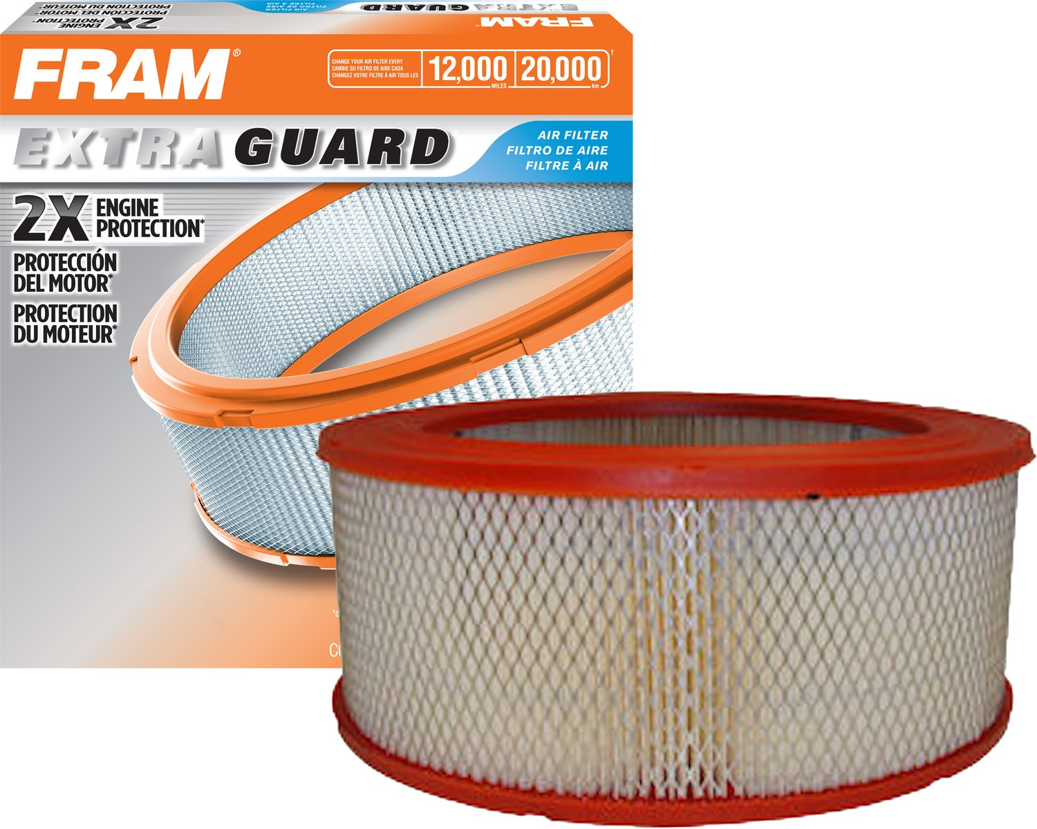 Fram Ca3501 Extra Guard Air Filter Automotive 1992 Ford F 250 Fuel Filters