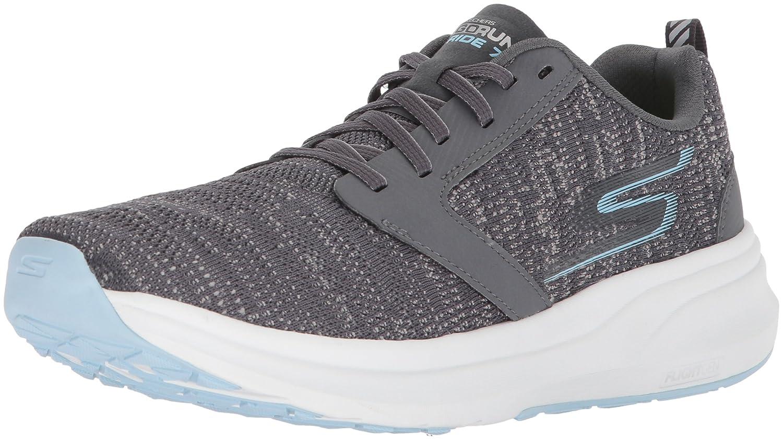 Skechers Women's Go Ride 7 Running Shoe B073GCH4J4 9.5 B(M) US|Charcoal/Blue