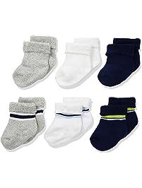 Gerber baby-boys standard 6-pair Wiggle Proof Sock