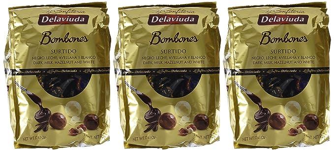 Delaviuda, Dulce de chocolate - 3 de 500 gr. (Total 1500 gr.): Amazon.es: Alimentación y bebidas