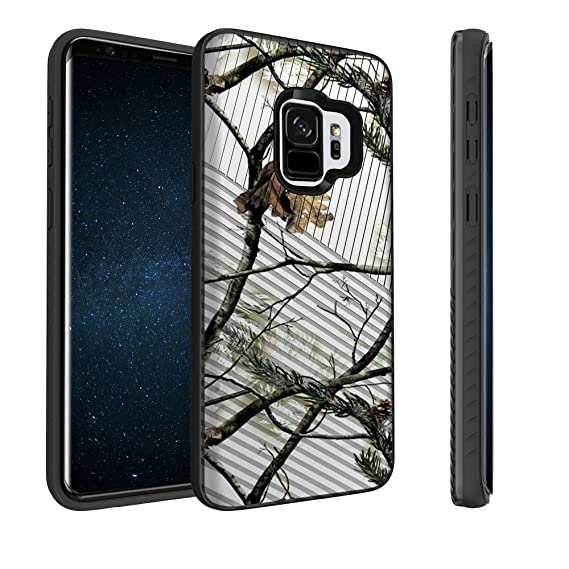 separation shoes dc4e8 f7167 Untouchble Case for Samsung Galaxy S9 Plus Camo Case, S9+ Plus Case [Stripe  Force] Shockproof Armor Shell Rugged Linear Design Inner TPU Skin Design -  ...