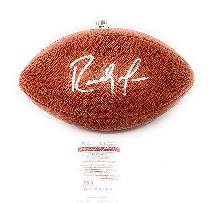 Randy Moss Minnesota Vikings Signed Autograph Authentic NFL Duke Football JSA  Witnessed Certified 8daa6c12e
