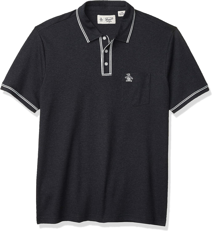 Original Penguin Mens Earl Pique Polo Shirt