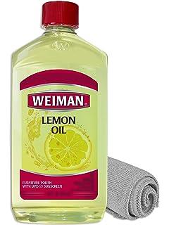 Amazon com: Weiman Lemon Oil Wood Polish - 16 Fluid Ounce