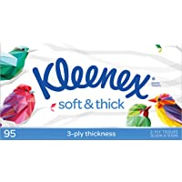 KLEENEX Facial Everyday Kleenex Soft & Thick Facial Tissues, 95 sheets
