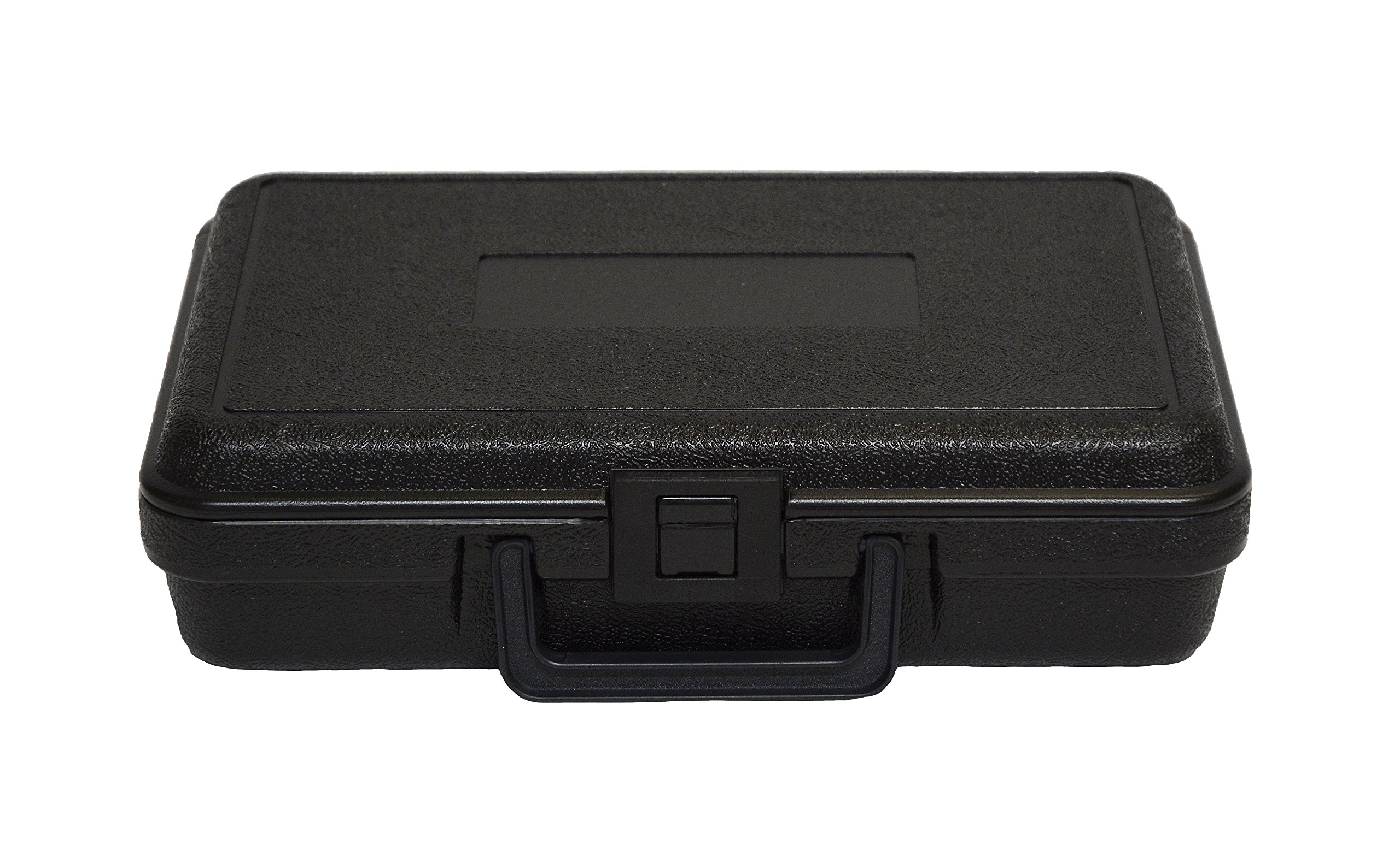 PFC 120-080-023-5PF Plastic Carrying Case with Foam 12'' x 8'' x 2 1/4'', 2.25'' Height, 8'' Width, 12'' Length,
