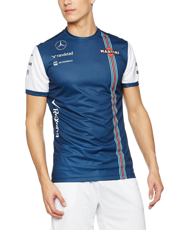 WILLAMS MARTINI RACING - Camiseta de réplica para Hombre, diseño del Equipo Williams Williams Martini Racing