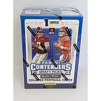 2021 Panini Contenders Draft Picks College Football Blaster Box One Autograph Per Box photo