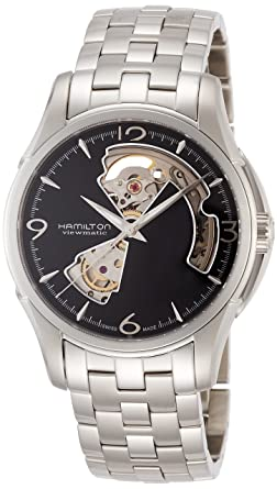 best loved 2a878 7f591 [ハミルトン]HAMILTON 腕時計 正規保証 AMERICAN CLASSIC JAZZMASTER OPEN HEART H32565135  メンズ [正規輸入品]