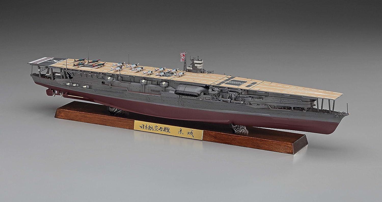 Hasegawa Maqueta de Modelo Portaaviones Akagi IJN, versión ...