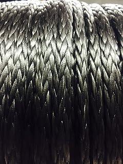 10mm Silver Dyneema SK75 12 Strand Rope x 5 Metres