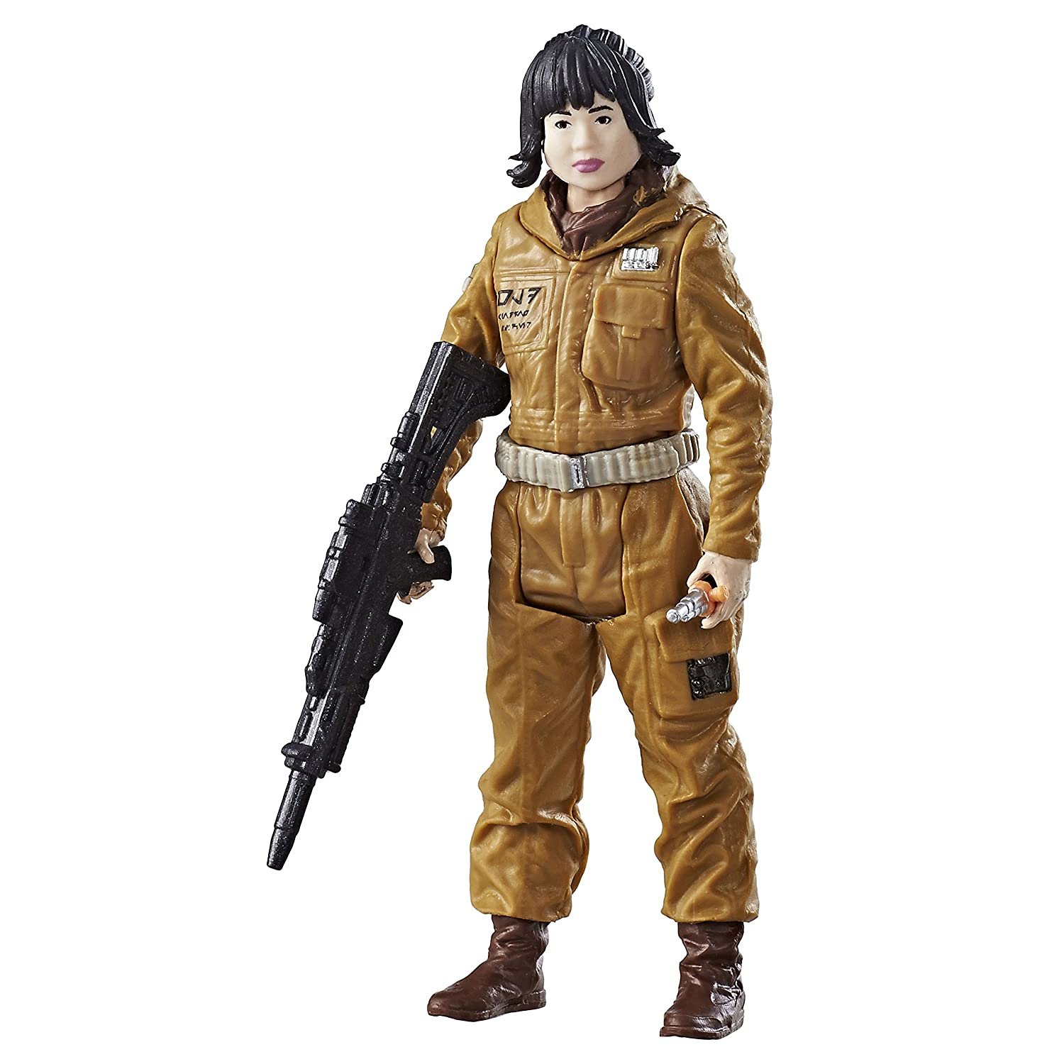 """Star Wars LAST JEDI Force Link LOOSE 3.75/"""" Figure ROSE TICO First Order Disguise"""
