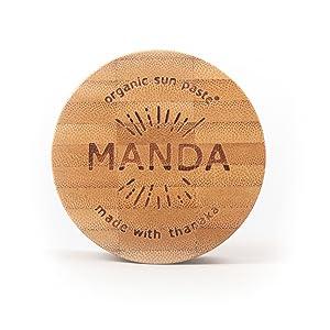 MANDA Organic Sun Paste - SPF 50 Sunscreen