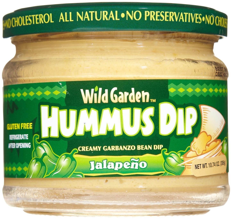 Wild Garden Hummus Dip Jalapeno -- 13.4 oz by Wild Garden
