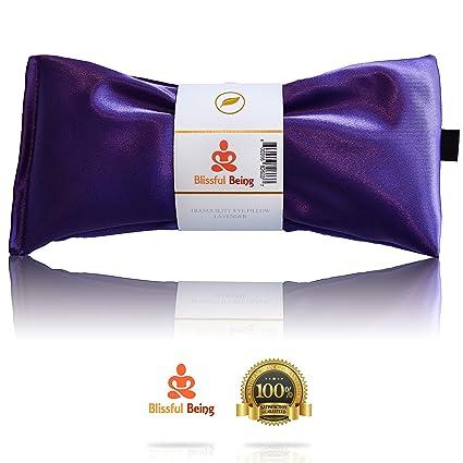 Amazon.com: Almohadilla de seda para los ojos Blissful Being ...