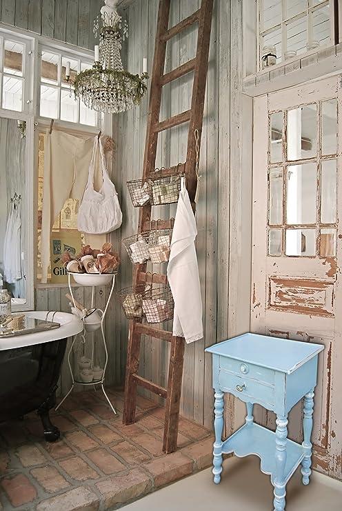 Mueble, mesa auxiliar, estilo Shabby Chic y provenzal: Amazon.es ...
