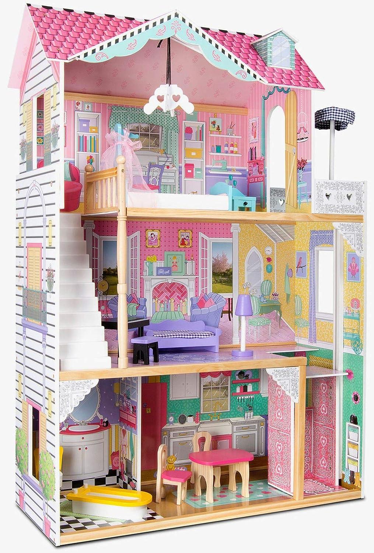Barbiehaus Aus Holz : jetzt barbie haus holz mit licht und soundeffekten ~ Watch28wear.com Haus und Dekorationen