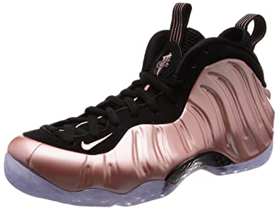 new style 49a0a 0a694 ... coupon for nike air foamposite one mens basketball shoes rust pink  white black 314996 602 fe2c9
