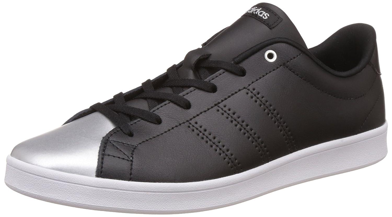 adidas Damen Advantage Clean QT Sneakers  36 2/3 EU|Schwarz (Negbas/Negbas/Plamet)