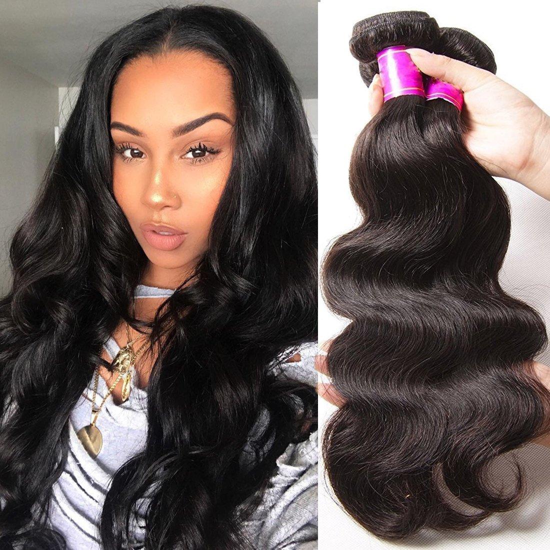 Amazon Ali Julia Hair Brazilian Virgin Body Wave Hair Weave 3