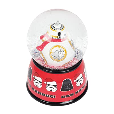 FAB Starpoint Star Wars BB8 White Christmas Snow Globe Coin Bank: Toys & Games