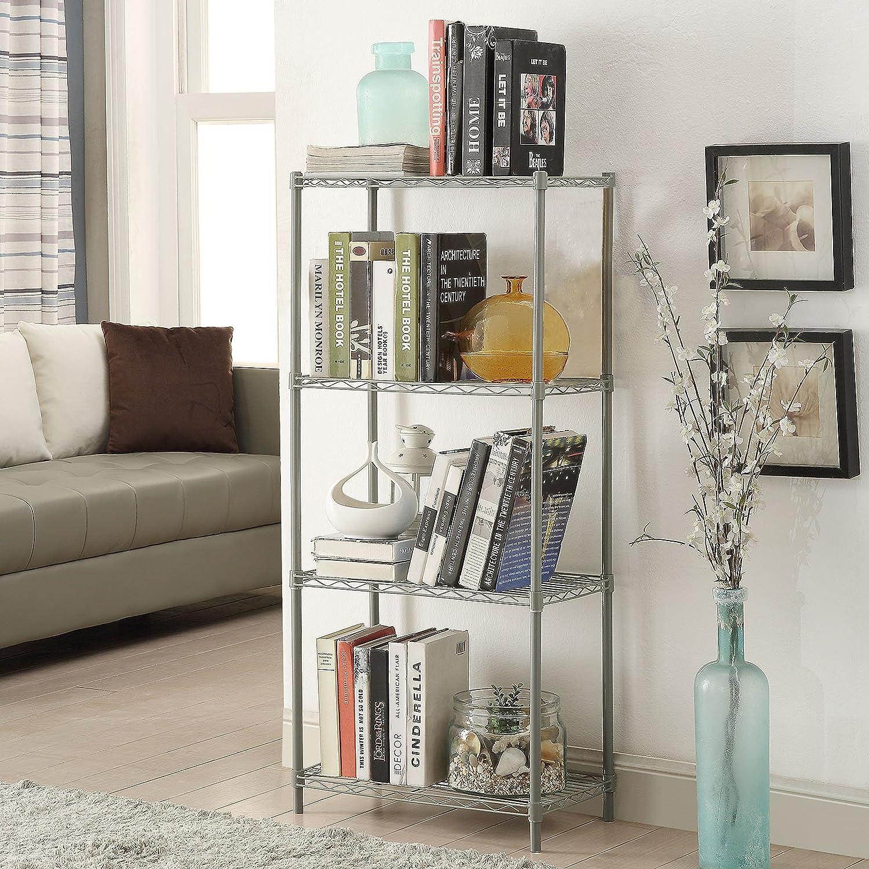 Amazoncom Homebi 4 Tier Wire Shelving 4 Shelves