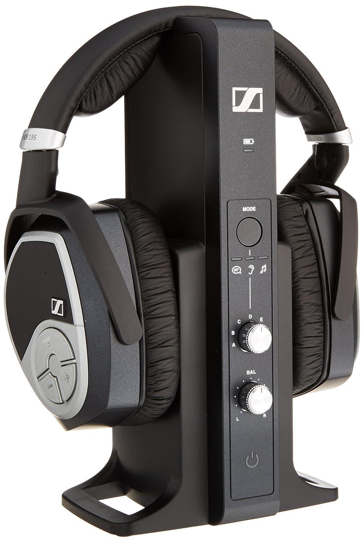 Sennheiser HDR 195 RF Wireless Headphone System (Black)