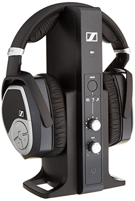 14854191b19 Amazon.com: Sennheiser RS 195 RF Wireless Headphone System: Home Audio &  Theater
