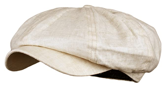 Men's Vintage Style Hats Mens Linen 8 Panel Applejack Gatsby newsboy IVY Hat $10.95 AT vintagedancer.com