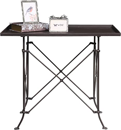 Creative Co-op Rectangle Metal Accent Table