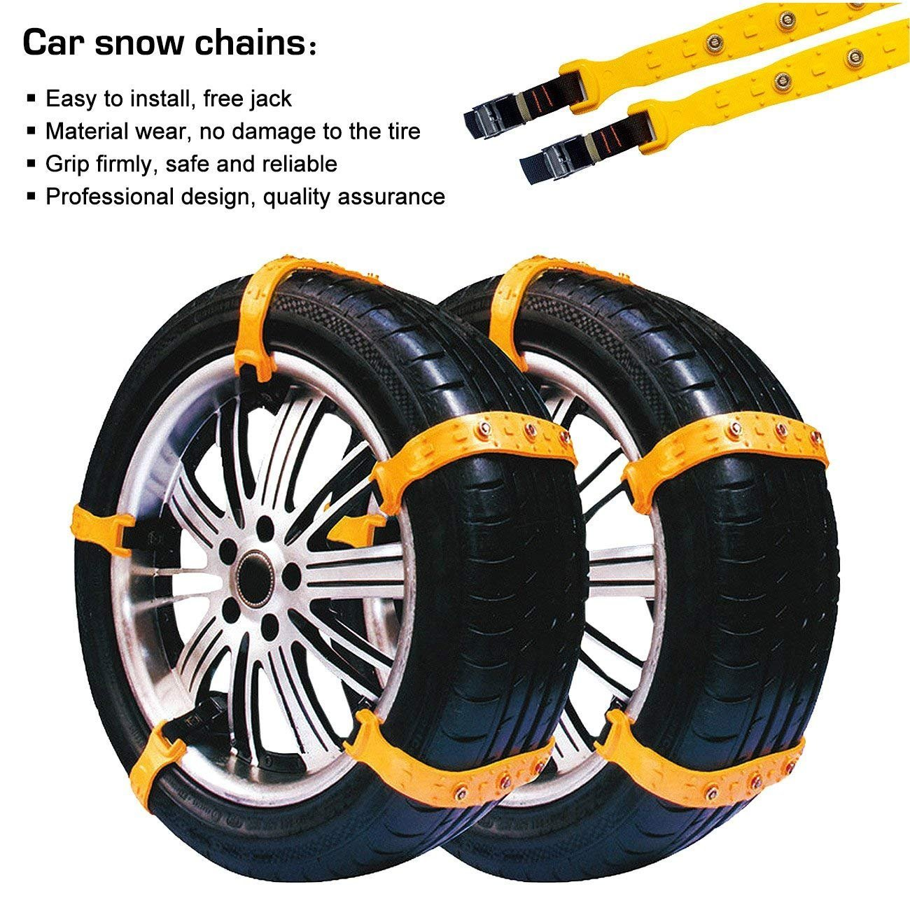 Car Tire Completely Flat, Amazon Com Updated Version Snow Chains Anti Skid Tire Chains Anti Slip Snow Tire Chains For Cars And Suvs Automotive, Car Tire Completely Flat