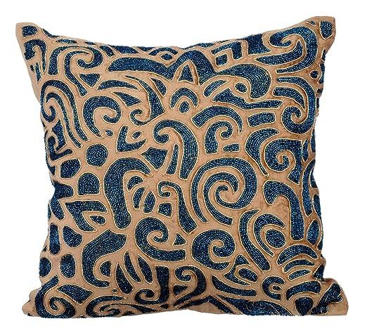 Oro funda cojin, 65x65 cm fundas para almohadas, los granos ...