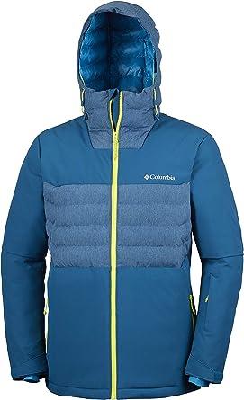 Columbia White Horizon – Chaqueta de esquí para Hombre, Hombre ...