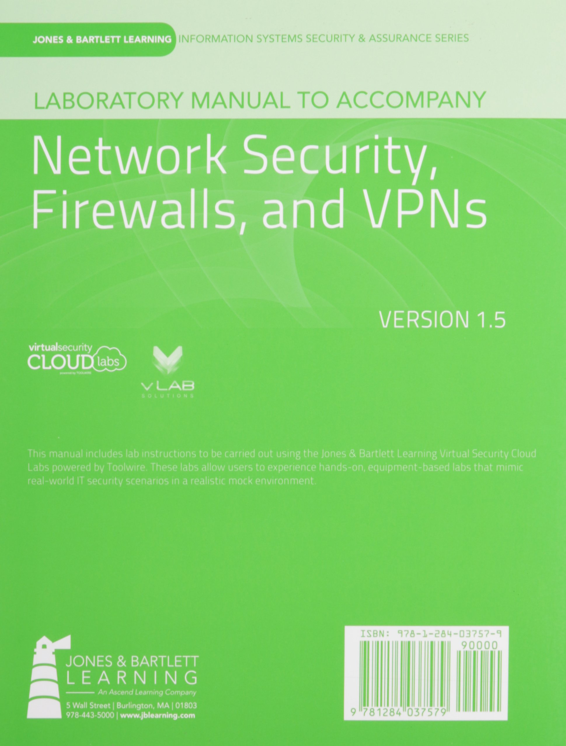 laboratory manual version 1 5 to accompany network security rh amazon com Microbiology Laboratory Manual Answers Sheets Lab Manual