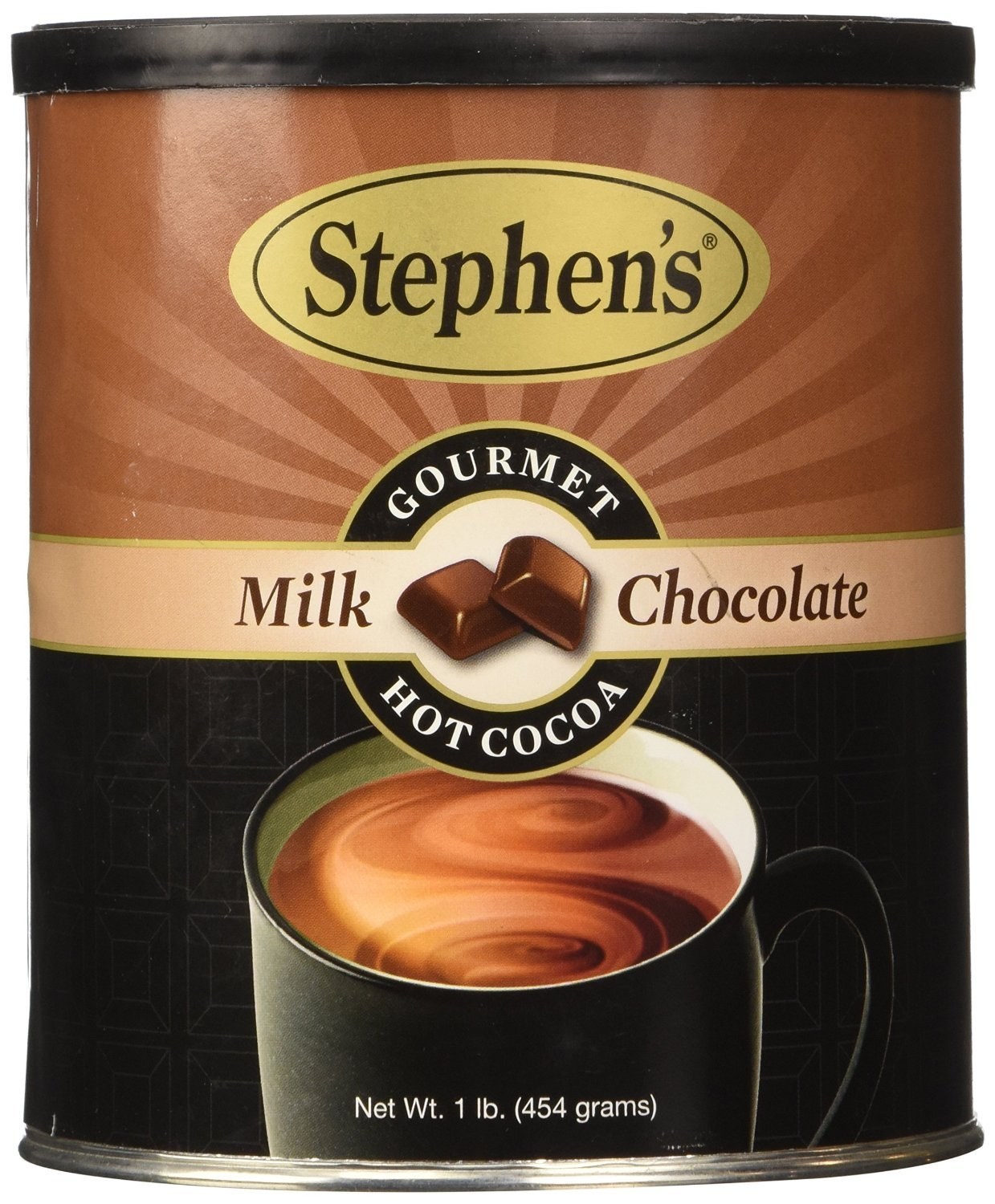 Amazon.com : Stephen's Gourmet Hot Cocoa, Milk Chocolate, 16-ounce ...