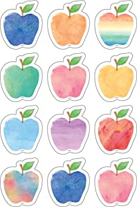 Watercolor Apple Mini Accents