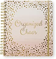 2020-2021 Organized Chaos, 18 Month Daily Planners/Calendars: Tri-Coastal Design Planners with Monthly, Weekly and Daily Vie