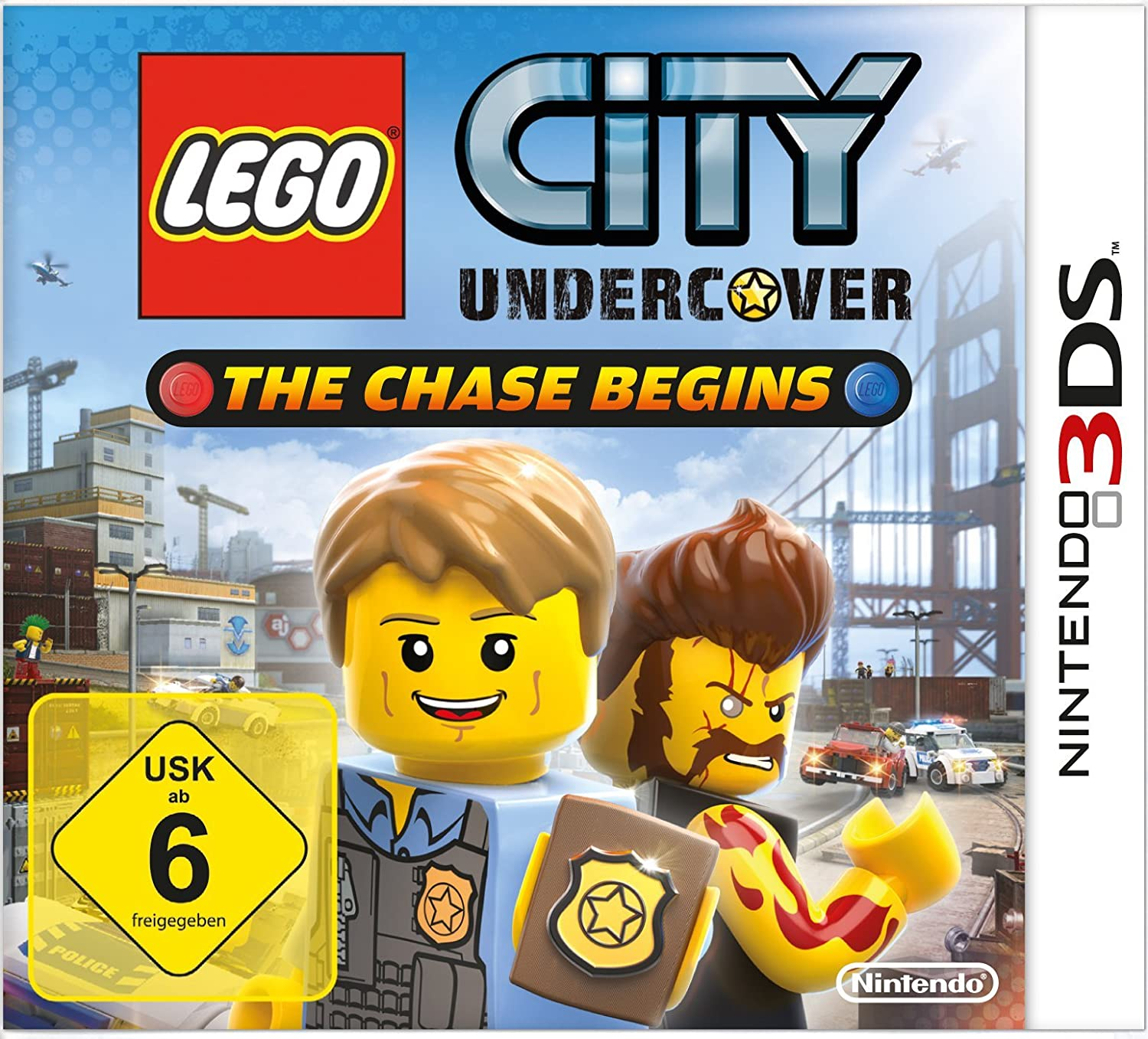 Lego City Undercover The Chase Begins Amazon De Games