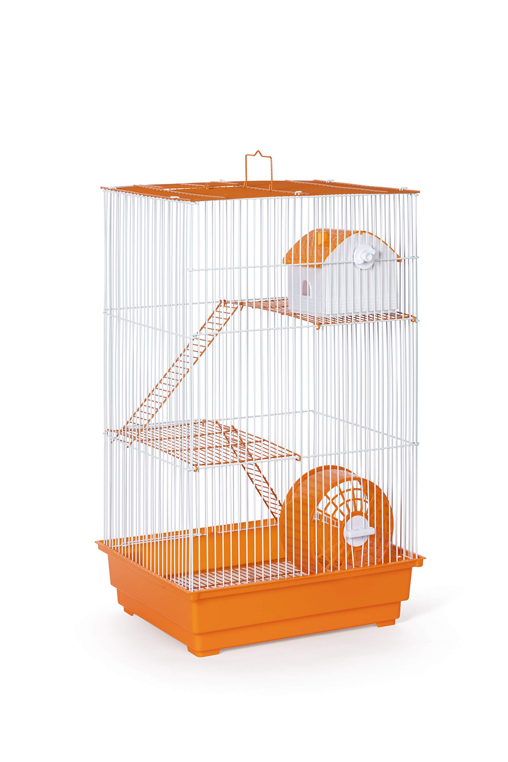 Prevue Pet Products Three-Story Hamster & Gerbil Cage Orange & White SP2030O by Prevue Pet Products (Image #4)