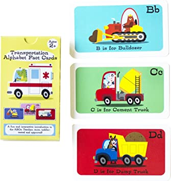 Amazon.com: Alfabeto Flashcards con Fun Facts, Niños ...