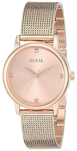 d8a685653c79 Guess U0532L3 - Reloj para Mujeres Color Oro Rosa  Amazon.es  Relojes