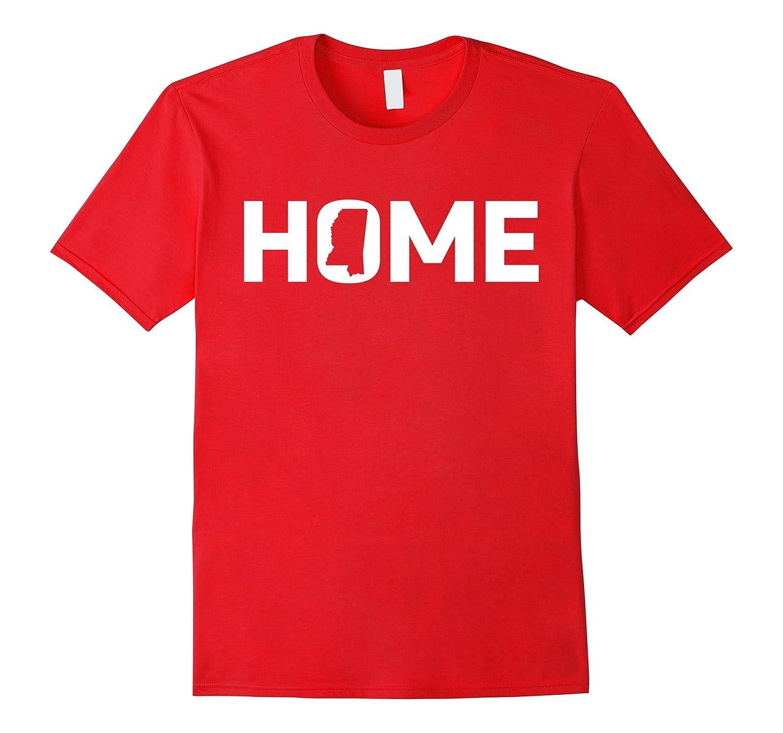 State Pride Home Mississippi T-Shirt for Mississippians-Loveshirt
