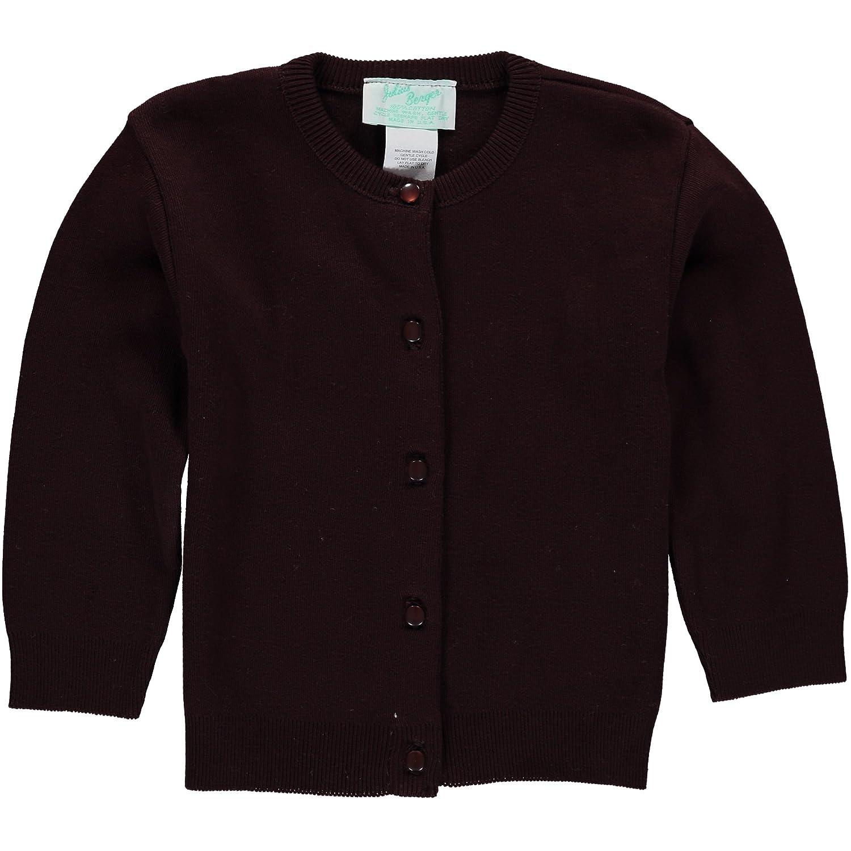 Julius Berger Brown Cotton Cashmere Girls Cardigan