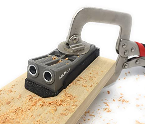 Massca Pocket Hole Jig Perfect For Joinery Woodworking Diy Carpentry Projects Jig Only