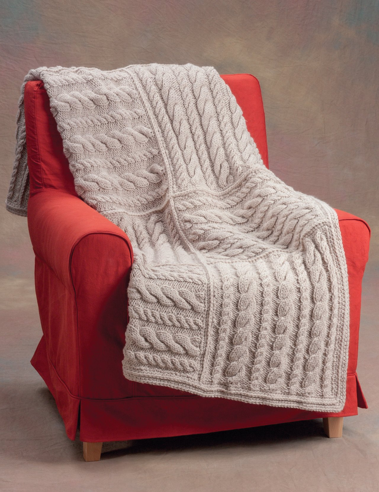 20 easy knitted blankets and throws from the staff at martingale
