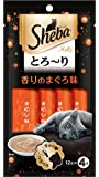 シーバ (Sheba) とろ~り メルティ 香りのまぐろ味 48g(12g分包×4個) 6袋セット [猫用おやつ]