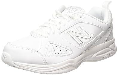 MX624AW4, Multi-Sports - Intérieur Homme - Blanc - Blanc, 47 1/2 EU (12.5 UK)New Balance