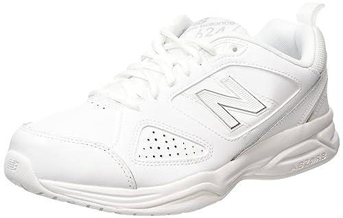 New Balance MX624AW4 Scarpe Sportive da Uomo Uso Indoor Colore Bianco White