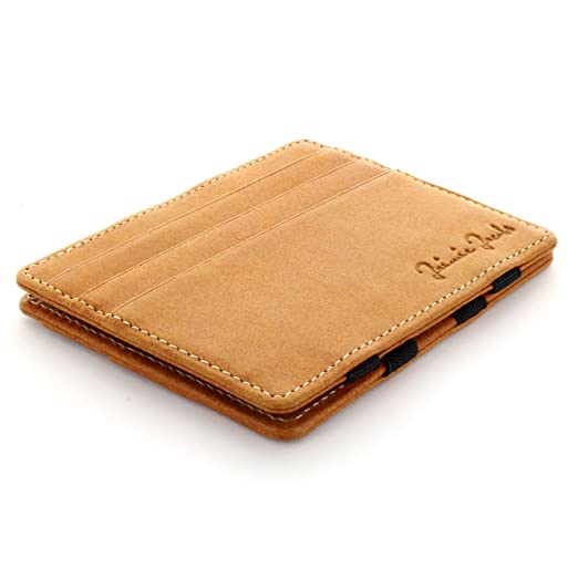107 opinioni per Jaimie Jacobs Magic Wallet Flap Boy Slim- l'Originale- Portafoglio Magico di