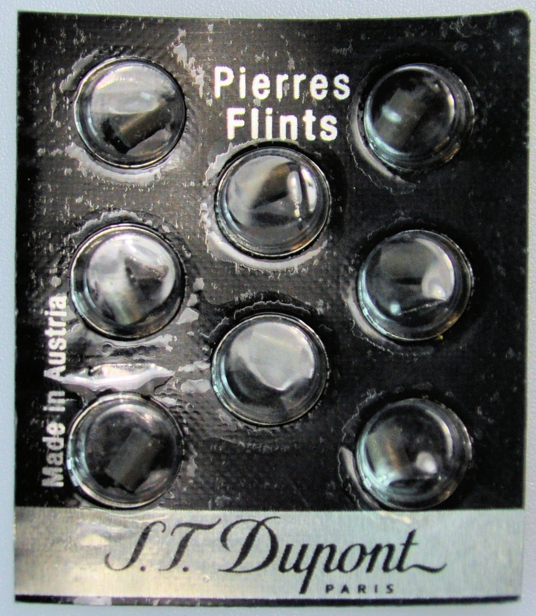 ST Dupont Black Flints